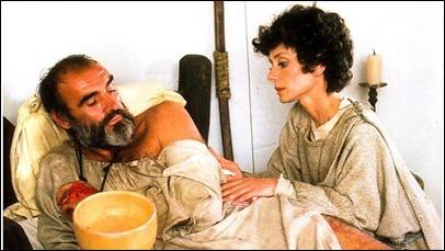 Unos maduros Sean Connery y Audrey Hepburn bordan a los crepusculares Robin y Marian