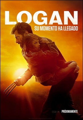 Cartel español de Logan