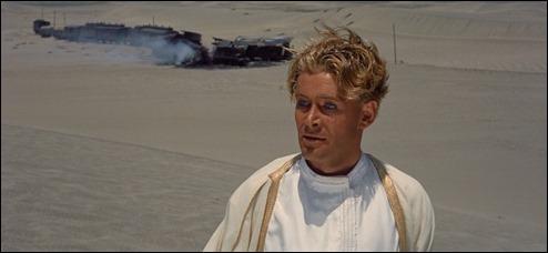 Fotograma de Lawrence de Arabia, con Peter O'Toole