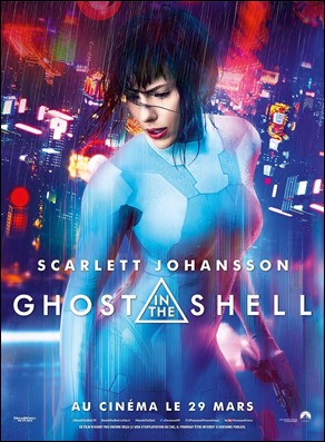 Cartel de Ghost in the Shell, versión 2017