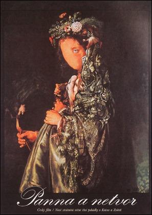 Cartel original de Panna a netvor, La Bella y la Bestia checa