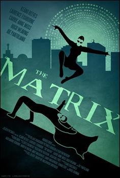 Estupendo poster alternativo de Dwayne-L para The Matrix