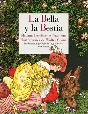 La bella y la bestia, en la bonita edición de Reino de Cordelia