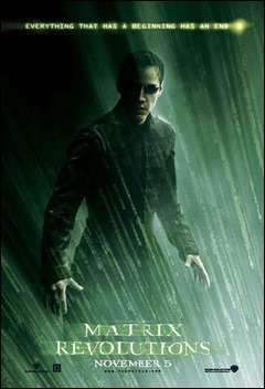 Poster de Matrix Revolutions