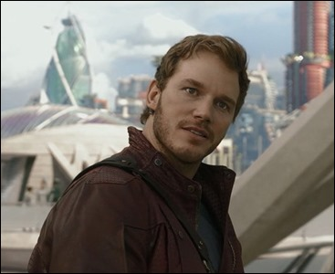 Chris Pratt es Peter Quill, alias Star Lord