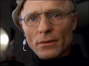 El gran Ed Harris como Christof