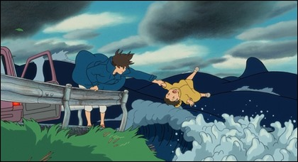 Lisa coge a tiempo a Sosuke