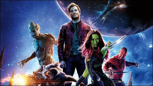 Los Guardianes de la Galaxia de Marvel Studios