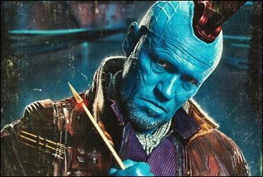 Michael Rooker, espléndido como Yondu