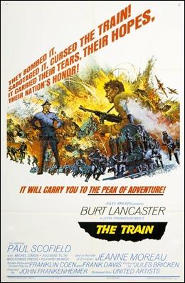 Cartel original de El tren