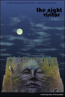 Curioso poster de  El visitante nocturno