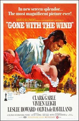 El celebérrimo cartel de Lo que el viento se llevó