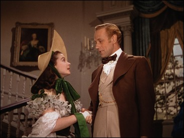 Escarlata y el insufrible Ashley Wilkes, Leslie Howard