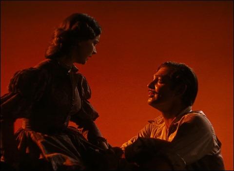 Escarlata y Rhett, sensualidad y ensueño, o sea, Lo que el viento se llevó