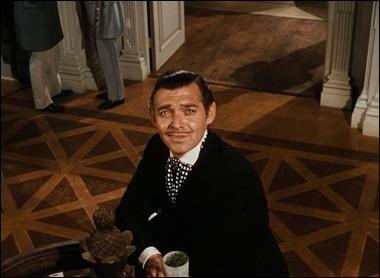 La entrada de Rhett Butler en la historia