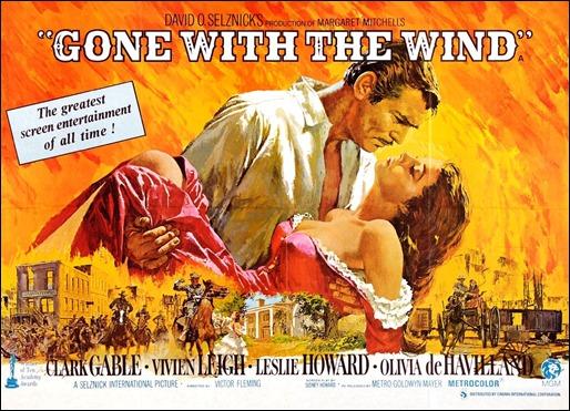 Versión ancha del cartel principal de Lo que el viento se llevó