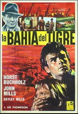 Cartel español de La bahía del tigre