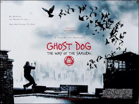 Estupendo poster de Ghost Dog, el camino del samurái