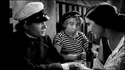 Fotograma de Las inquietudes de Shanti Andía, la muy curiosa adaptación de la novela de Baroja realizada en 1947 por Arturo Ruiz Castillo