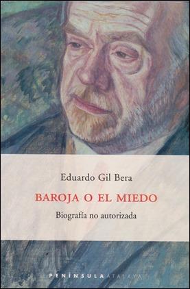 Portada de Baroja o el miedo, de Eduardo Gil Bera
