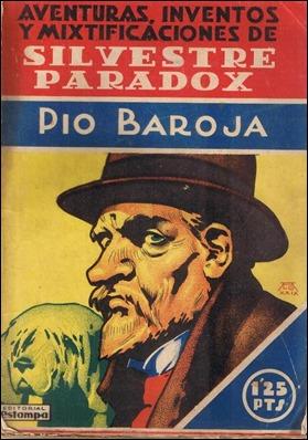 Portada de una edición de 1930 de Silvestre Paradox, en Editorial Estampa