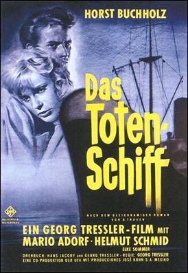 Poster alemán de la películas Das Totenschiff, El barco de los muertos