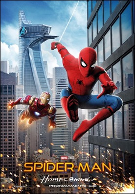 Poster de Spiderman Homecoming