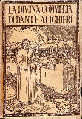 Edición italiana antigua de la Divina Comedia