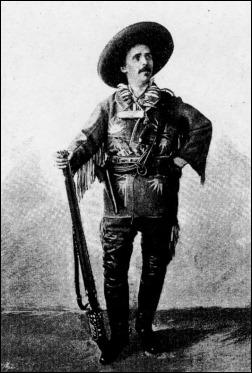 Karl May, ataviado, o algo así, de westman