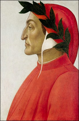 Retrato de Dante, por Sandro Botticelli