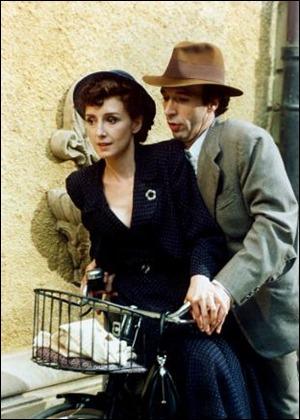 Roberto Benigni y Nicoletta Braschi, la pareja protagonista de La vida es bella