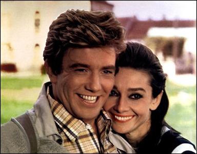 Albert  Finney y Audrey Hepburn, dos en la carretera