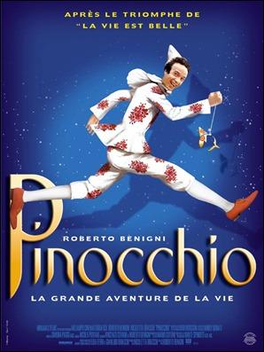 Cartel francés del Pinocho de Benigni