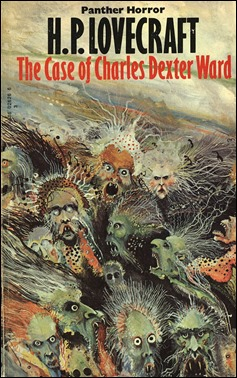 Portada de Ian Miller para una edición de El caso de Charles Dexter Ward
