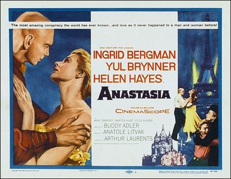 Cartel original de Anastasia