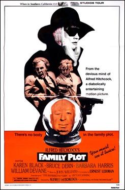 Cartel original de La trama, de Hitchcock