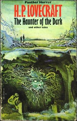 Edición inglesa de El asiduo de las tinieblas, de Lovecraftg