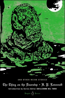 Edición Penguin de relatos de Lovecraft con La cosa en el umbral