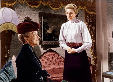 Helen Hayes e Ingrid Bergman en la escena principal de Anastasia