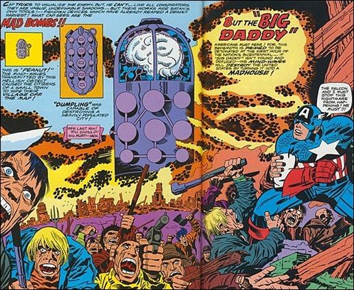 La Bomba Loca de Jack Kirby, una capsula medicinal con cerebro incorporado