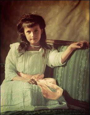 Retrato de la verdadera princesa Anastasia