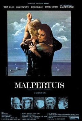 Cartel de la version cinematografica de Malpertuis, por Harry Kumel