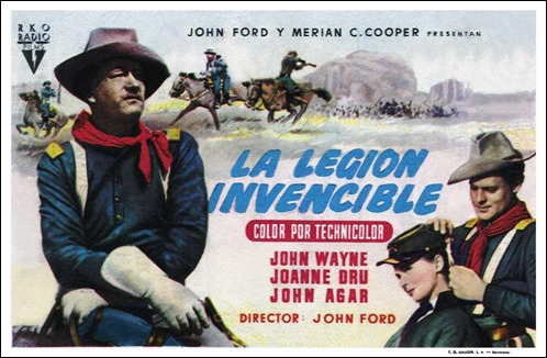Cartel español de La legión invencible