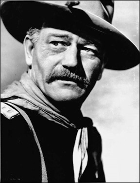 John Wayne, inolvidable capitán Nathan Brittles
