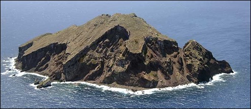 La áspera isla de Redonda, cuyo soberano actual es Xavier I