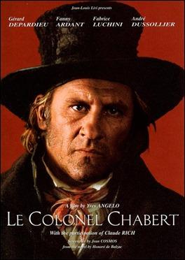 El coronel Chabert, adaptado al cine con Gerard Depardieu como el protagonista