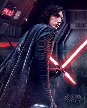 Kylo Ren, distinto a Darth Vader