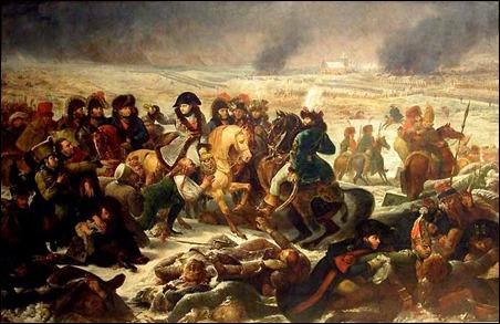 La batalla de Eylau, donde Chabert pierde el rumbo de su vida