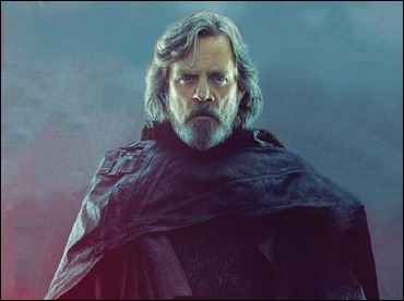 Mark Hamill, el envejecido Luke Skywalker de Star Wars. Los ultimos jedi
