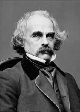 Nathaniel Hawthorne, hacia 1860